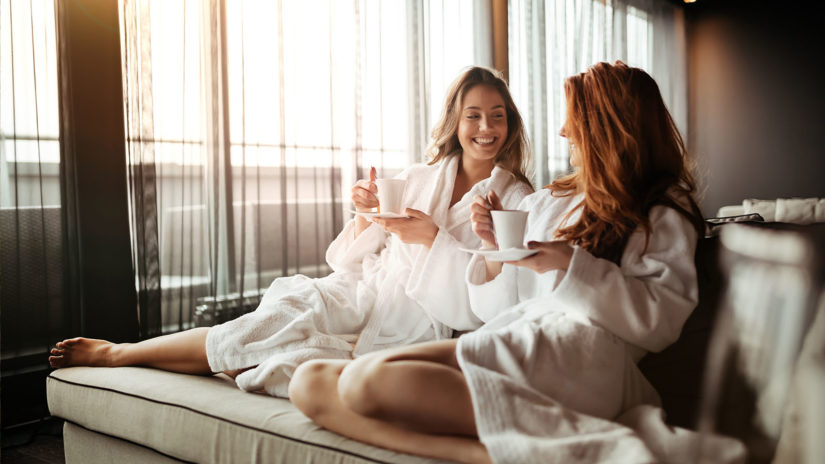 Enjoy Healthy Spa Days
