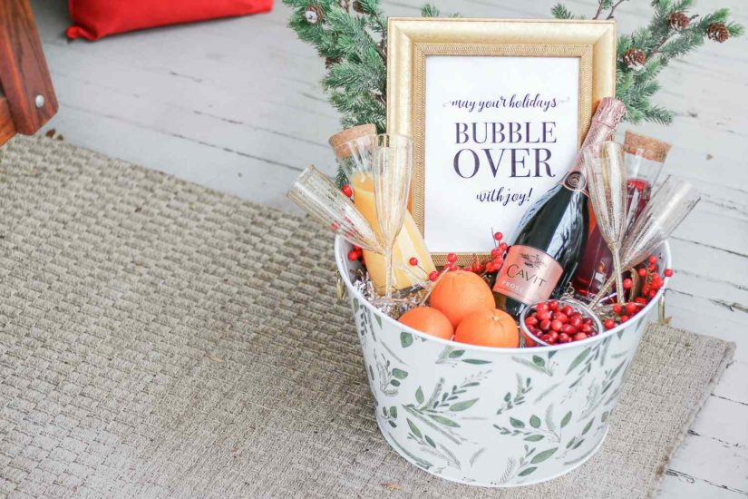 Create Gift Baskets Yourself!